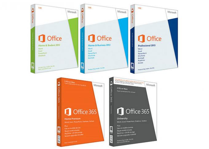 Global Lanugage Microsoft Office Retail Box / Microsoft Office 2013 Standard