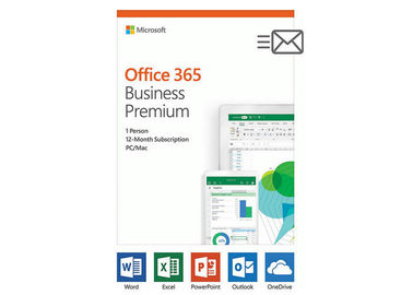 China 12 Month Subscription Microsoft Windows Software / Microsoft Office 365 Business Premium factory