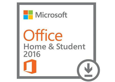 China Activation Microsoft Windows Software / Original Office 2016 Home and Student factory