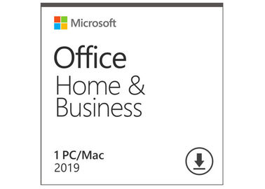 Microsoft Office Home And Business 2019 Activation Card 1 Person Compatible Apple Mac OS