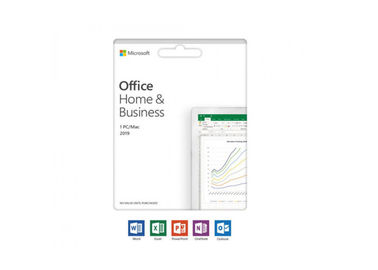 China Microsoft Office Home and Student 2019 Activation Card by Mail 1 person Compatible factory