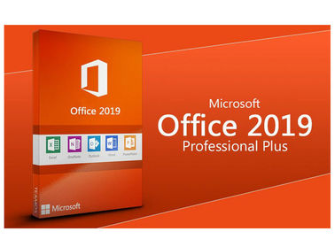 Microsoft Office 2019 Pro Plus Key Card MS Digital 1 Key For 1 PC Lifetime