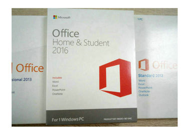 China Original Microsoft Office 2013 Home and Student Key Code Retail Box 1 User 1 PC factory