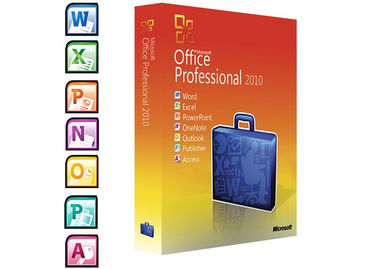 China Full Version Microsoft Windows Softwares / 2010 Professional Plus  DVD Activation factory