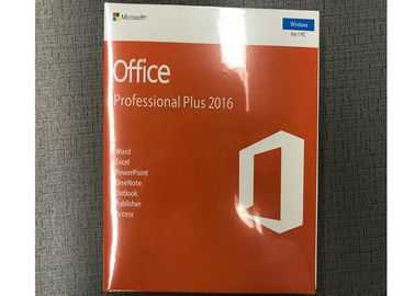 32bit 64bit Microsoft Office Retail Box / Online Microsoft Office 2016 Pro Plus