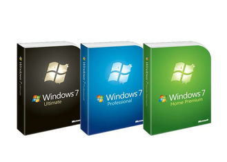 China Brand New Windows 7 Product Key Codes / Windows 7 COA Sticker OEM Package factory