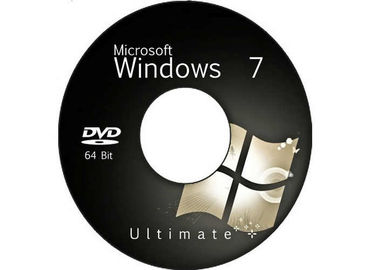 China Microsoft Windows 7 Ultimate Product Key 64 Bit DVD Packing 100% Genuine factory
