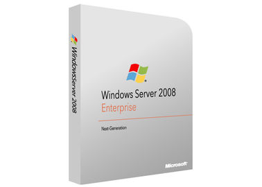 Genuine Win Server 2008 R2 Enterprise DVD Version 1 Year Lifetime Support