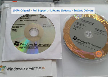 Full Version Win Server 2008 R2 Enterprise / Microsoft Windows Server 2008 R2 License Key