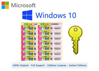 Windows 10 Upgrade Product Key 64 bit OEM Genuine Online Activation