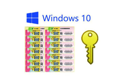 China Windows 10 Pro Plus COA License Sticker OEM Package Download Online Activation factory