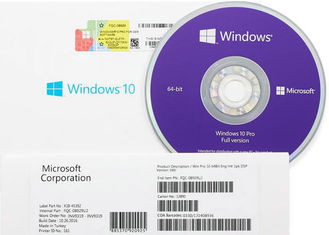 China USA Version Windows 10 Professional Oem COA Disc OEM Pack Multiple Languages factory