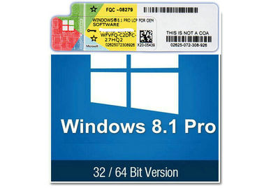 China Activate COA License Sticker Online Download Link Windows 8.1 Professional Pro factory