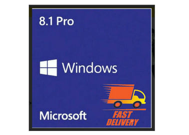 China Multi Languages Windows 8.1 Product Key Code COA Sticker 100% New 1 KEY For 1 PC factory