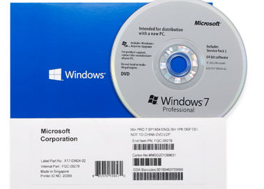 China 32/64 Bit OS Microsoft Windows 7 Home Premium Full Versions 1 Year Warranty factory