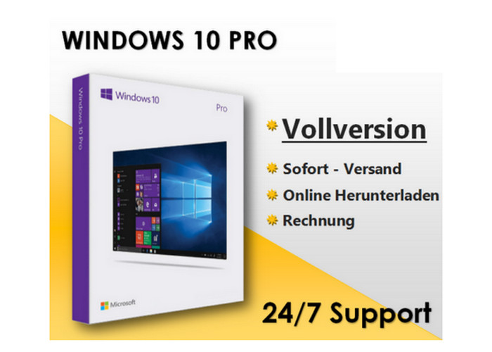 USB Package Windows 10 Pro Operating System Key DVD COA ...